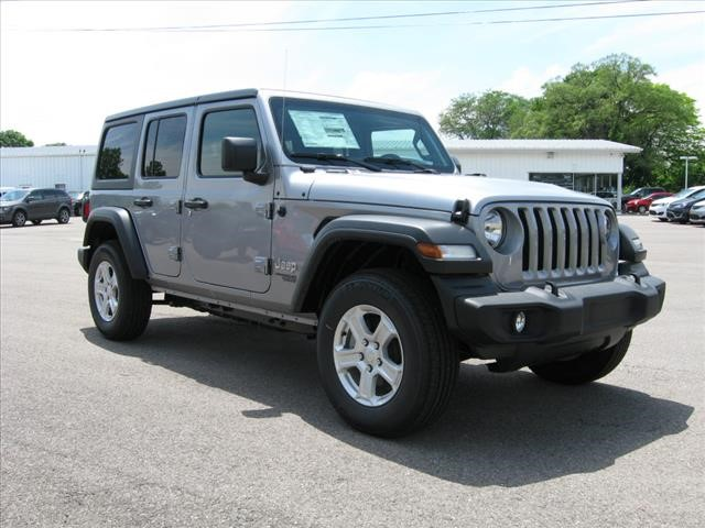 New 2019 JEEP Wrangler 4X4 Unlimited Sport
