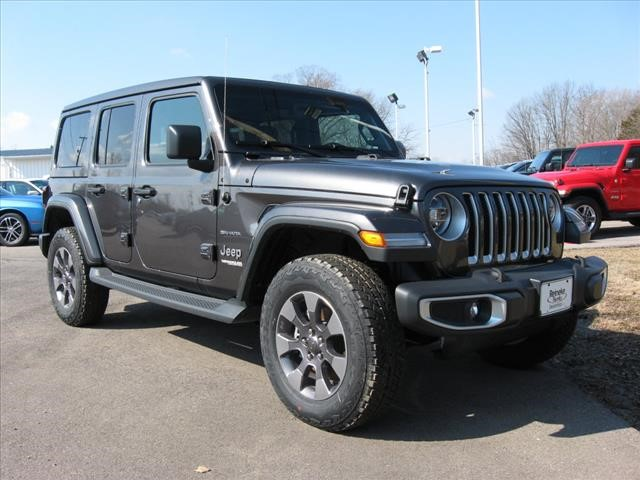 New 2019 JEEP Wrangler 4X4 Unlimited Sahara