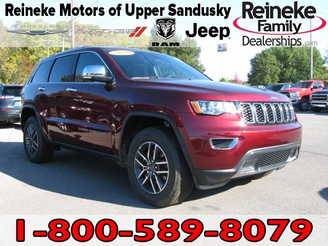 New 2020 JEEP Grand Cherokee 4X4 Limited w/ Nav