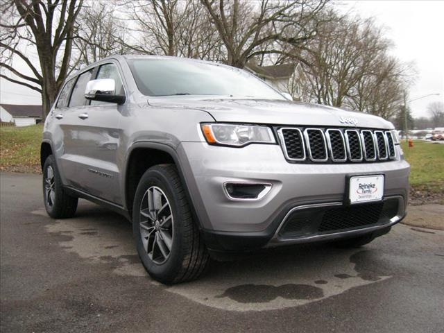Pre-Owned 2017 Jeep Grand Cherokee 4X4 Limited w/ Nav