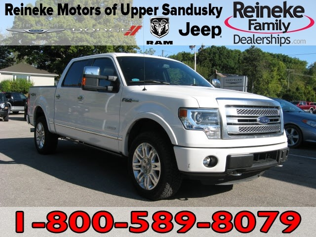 Pre-Owned 2014 Ford F-150 4X4 Platinum w/ Nav