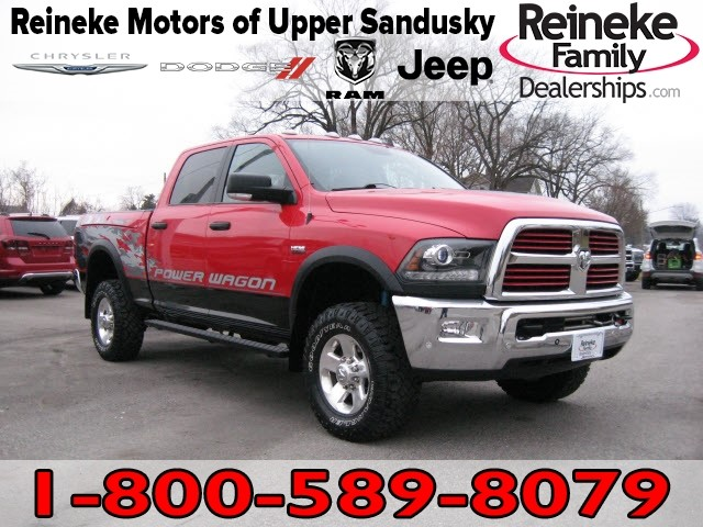 Pre-Owned 2016 RAM 2500 4X4 Power Wagon w/ Nav