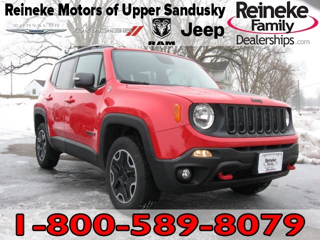 Pre-Owned 2016 Jeep Renegade 4X4 Trailhawk