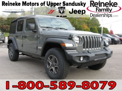 New 2018 JEEP Wrangler 4X4 Unlimiited Sport