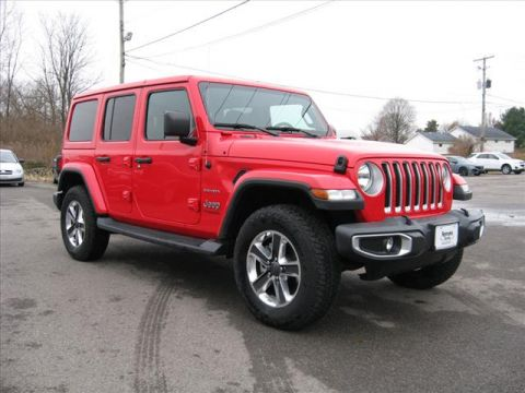 New 2018 JEEP Wrangler 4X4 Unlimited Sahara