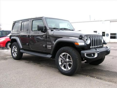 New 2020 JEEP Wrangler 4X4 Unlimited Sahara