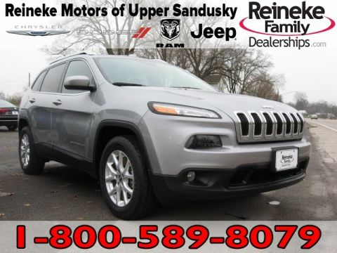Pre-Owned 2015 Jeep Cherokee 4X4 Latitude