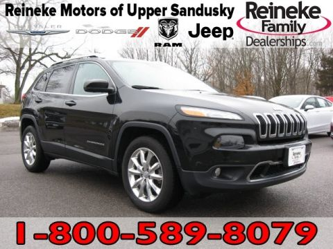 Pre-Owned 2015 Jeep Cherokee 4X4 Limited w/ Navigation
