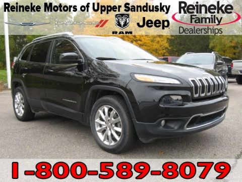 Pre-Owned 2015 Jeep Cherokee 4X4 Limited