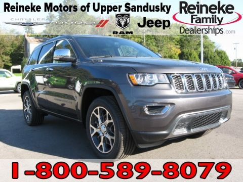 New 2019 JEEP Grand Cherokee 4X4 Limited w/ Navigation
