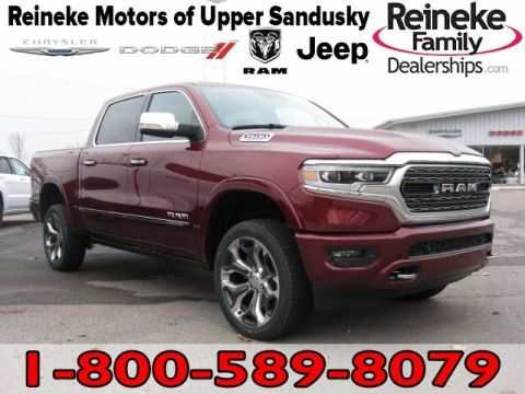 New 2019 RAM All-New 1500 4X4 Limited w/ Navigation