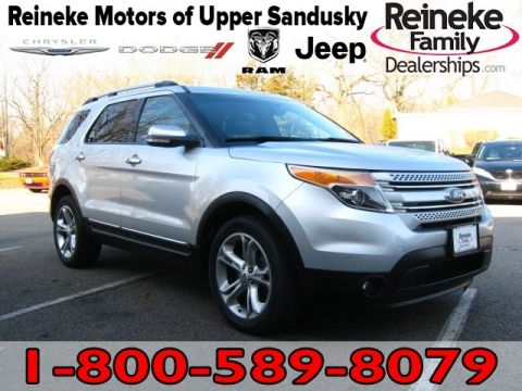 Pre-Owned 2015 Ford Explorer 4X4 Limited