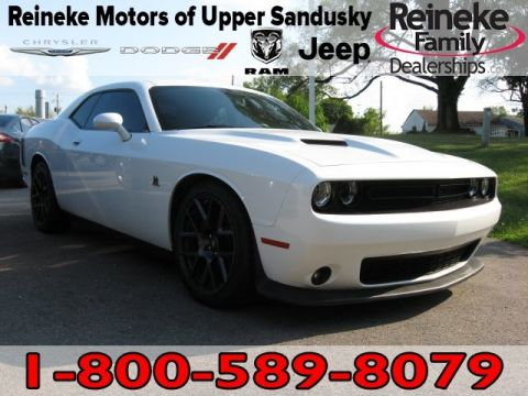 Pre-Owned 2017 Dodge Challenger R/T Scatpack w/Nav