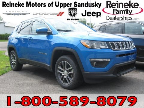 New 2018 JEEP Compass 4X4 Latitude