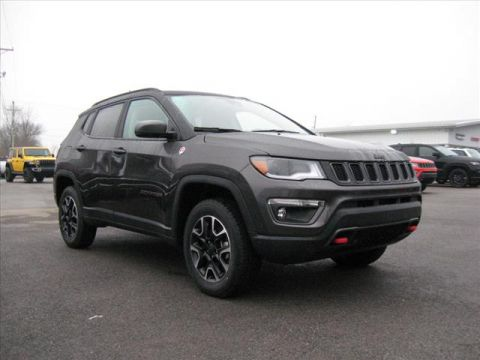 New 2020 JEEP Compass 4X4 Trailhawk w/Nav