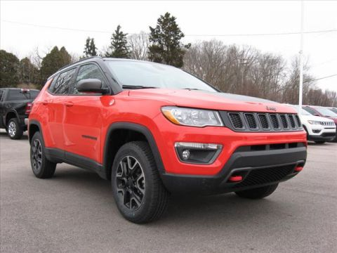 New 2019 JEEP Compass 4X4 Trail Hawk w/ Navigation