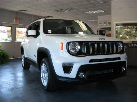 New 2020 JEEP Renegade 4X4 Latitude